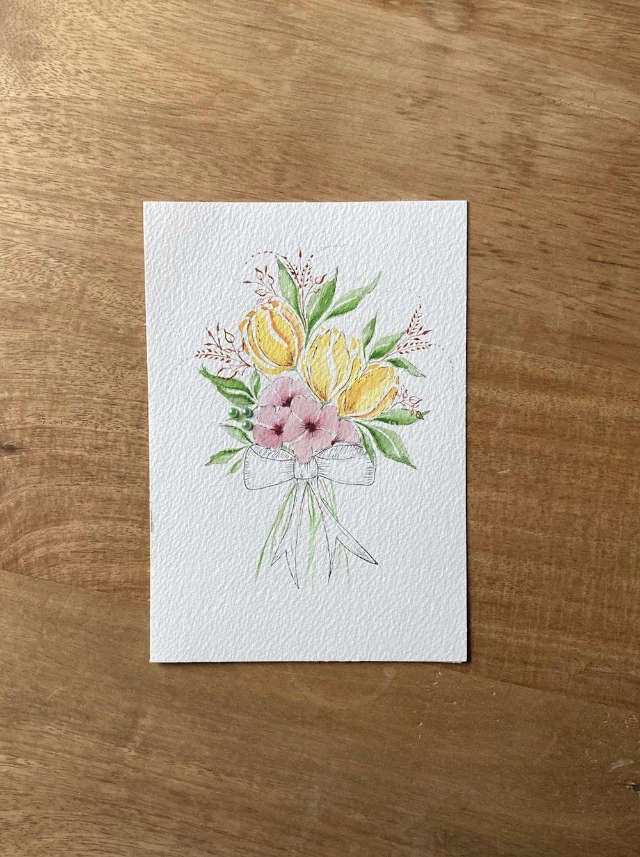 Autumn florals - image 1 - student project
