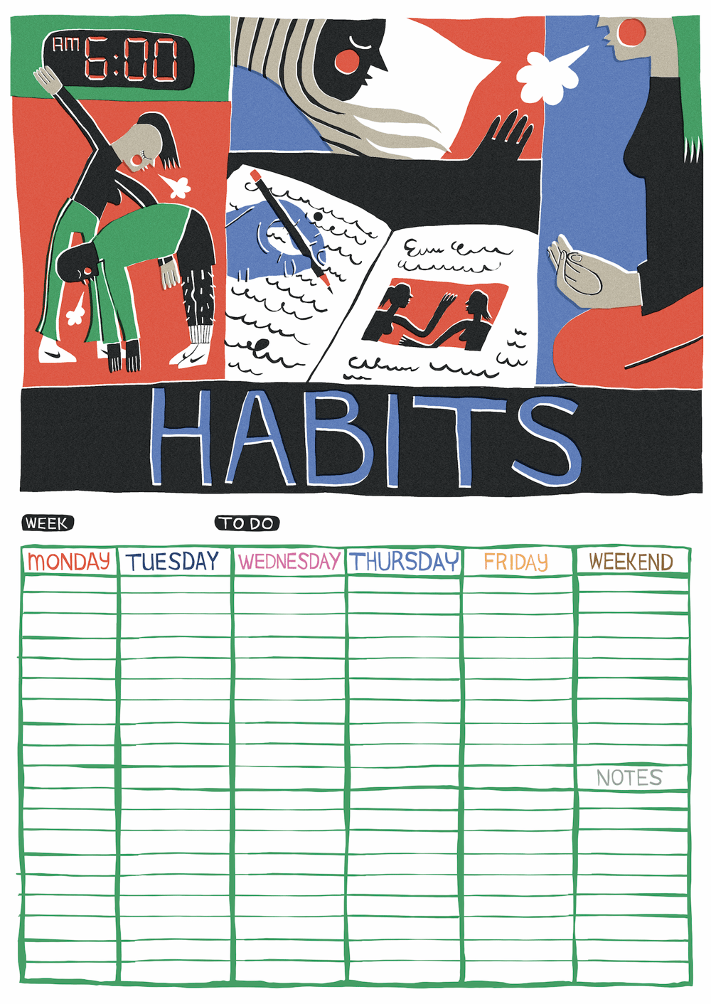 Calendar of Mental Health - image 8 - student project