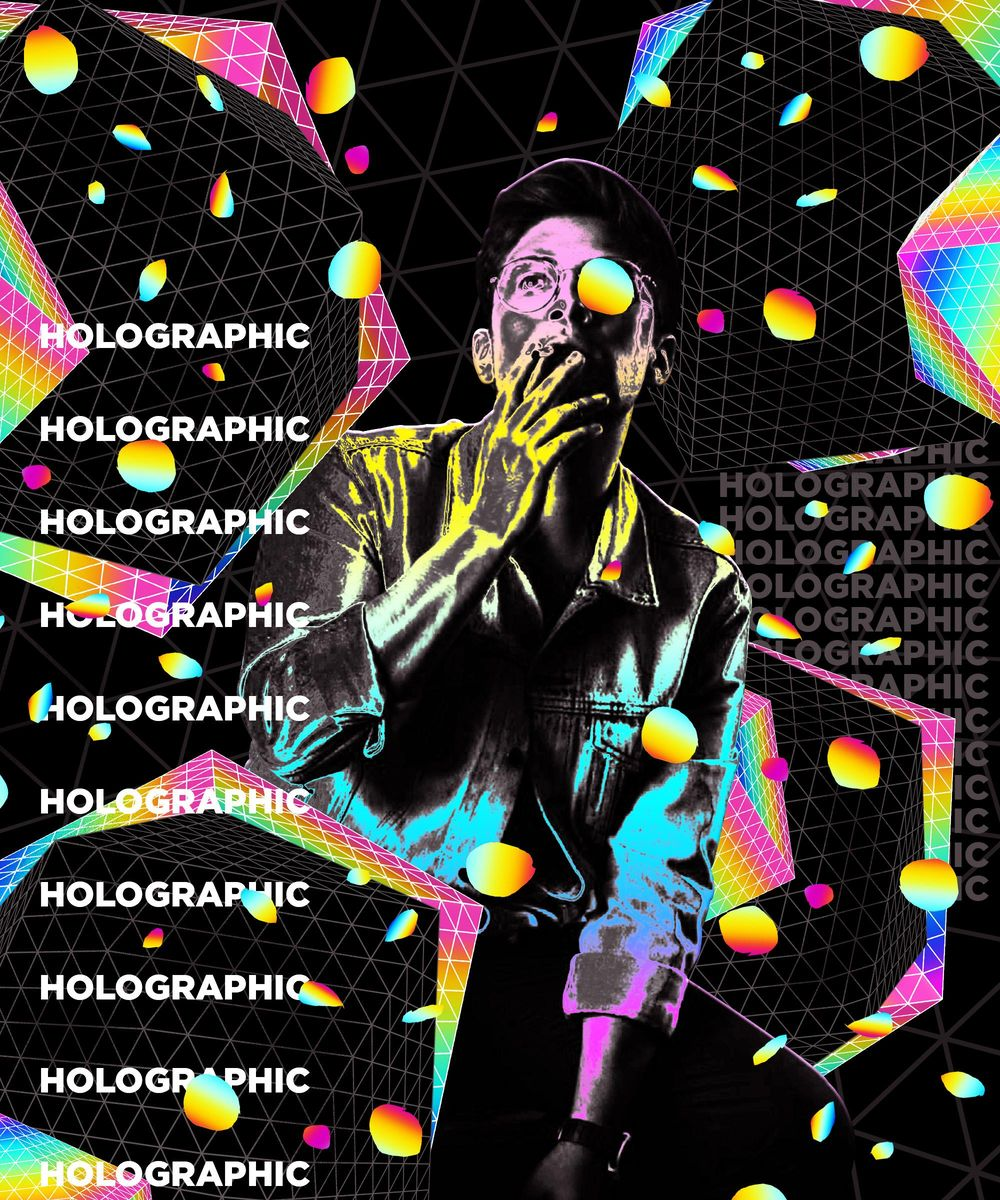 Holographic/Cel Rendering - image 1 - student project