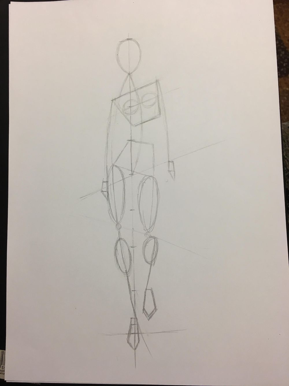 Fashion illustration (traditional tools) - 2 designs finished - image 1 - student project