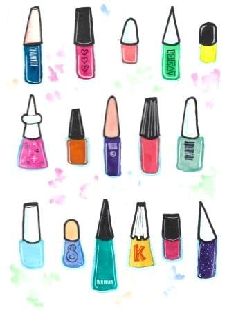 Nailpolish bottles - image 1 - student project