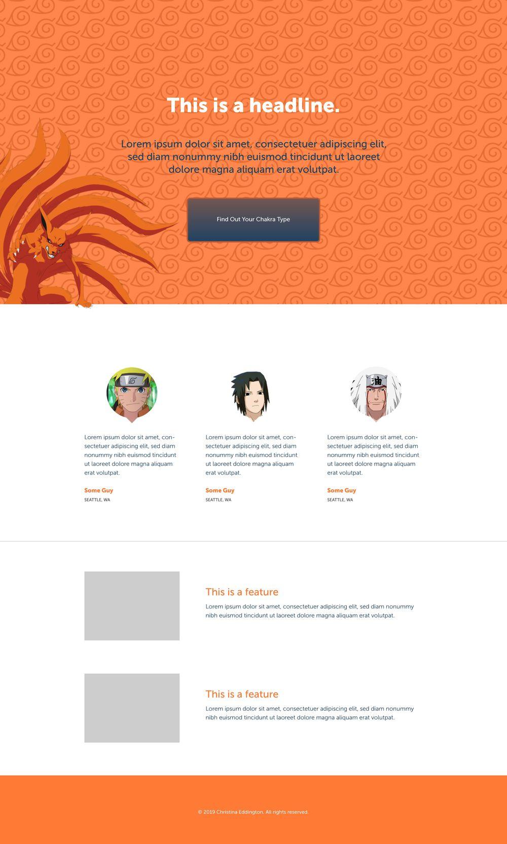 NarutoLand - image 1 - student project
