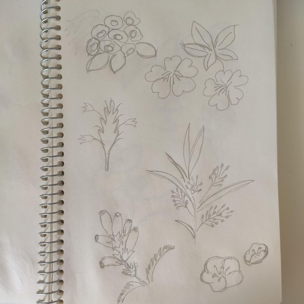 """My first flower pattern """"Nostalgia"""" - image 2 - student project"""