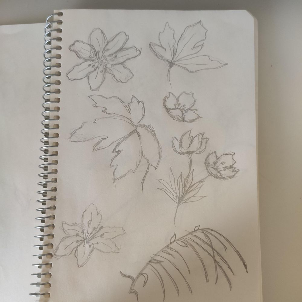 """My first flower pattern """"Nostalgia"""" - image 1 - student project"""