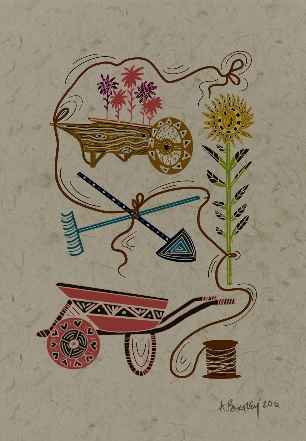 Folk Art Illustration ideas - image 2 - student project