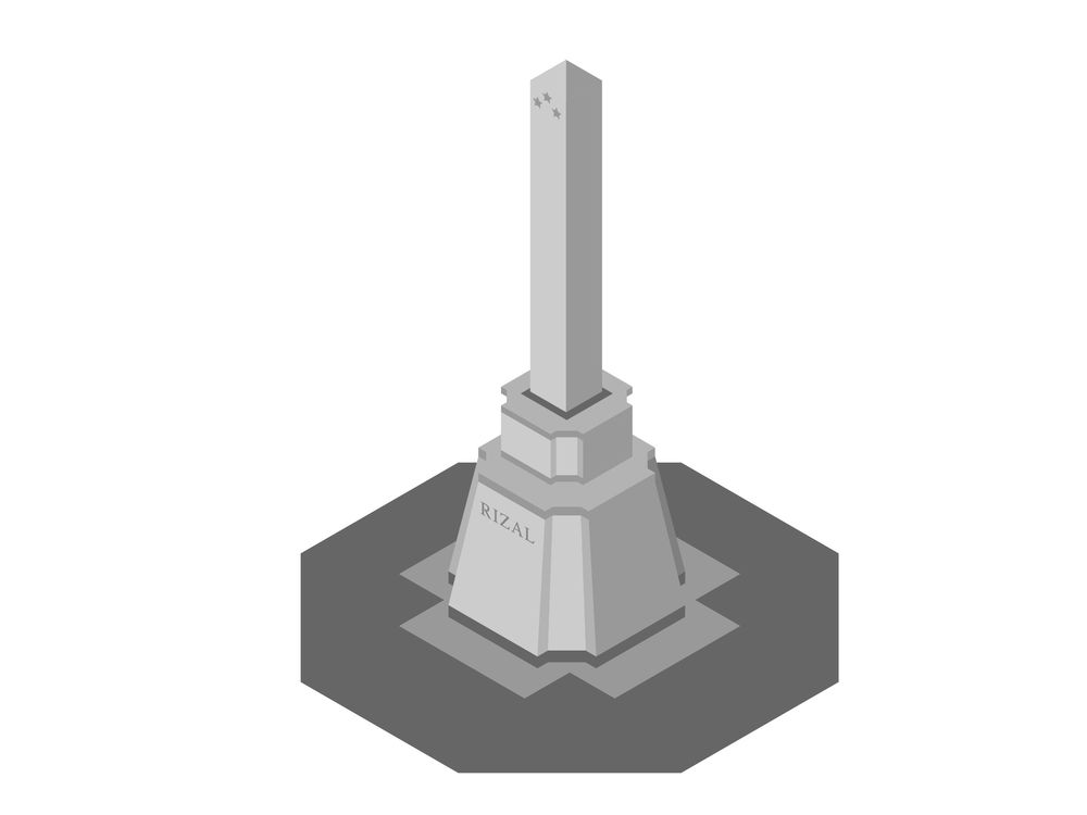 Rizal Monument - image 1 - student project