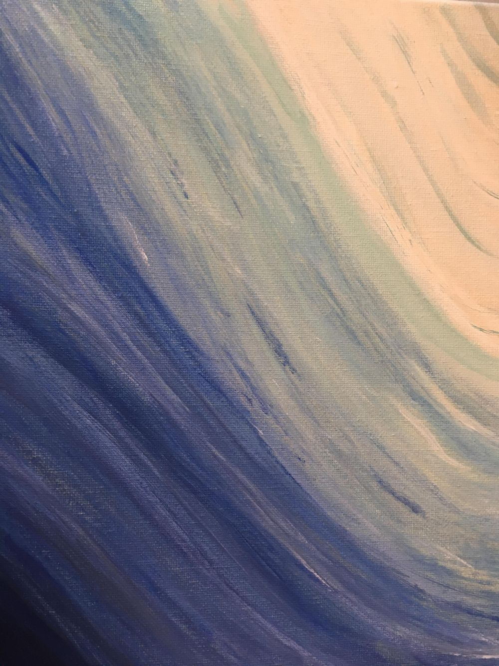 Abstracts in Blue - image 2 - student project