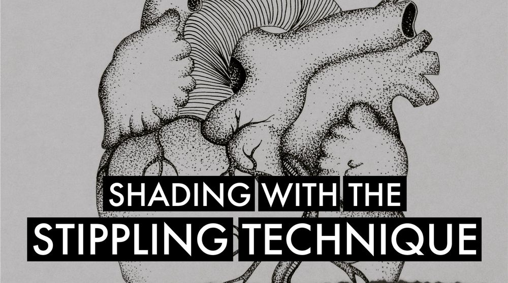 Shading With the Stippling Technique - image 1 - student project