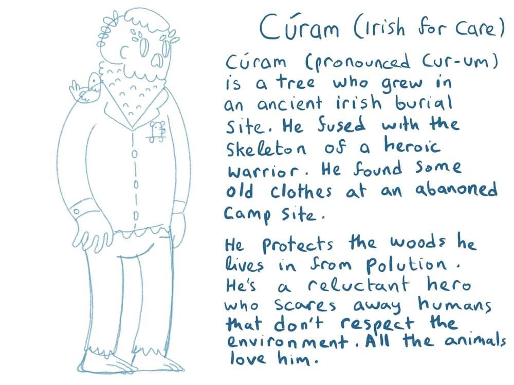 Cúram (Cur-em) Guardian of Nature - image 3 - student project