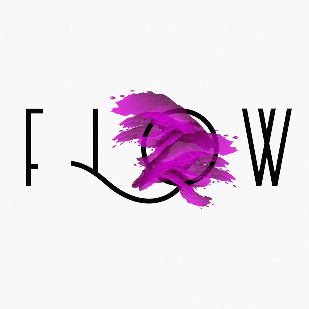 """""""Flow"""" Abstract Poster - image 2 - student project"""