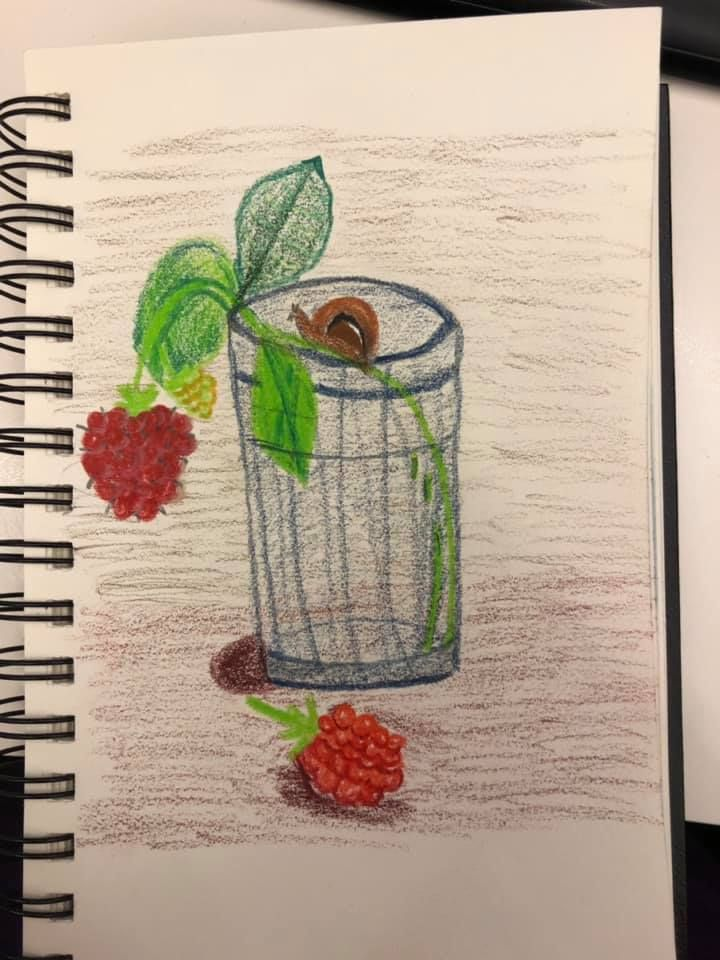 Day 1: Sketchbook Magic - image 7 - student project