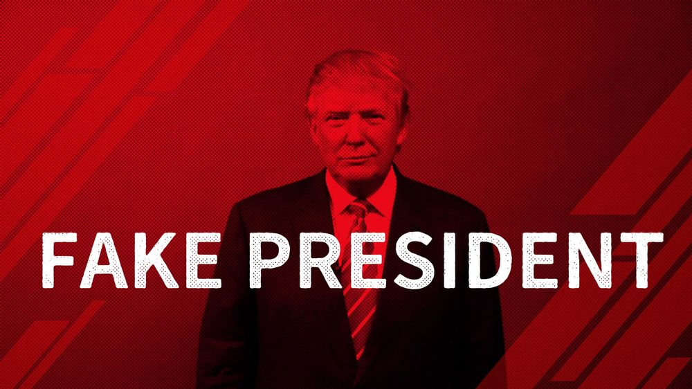 fake president - image 1 - student project