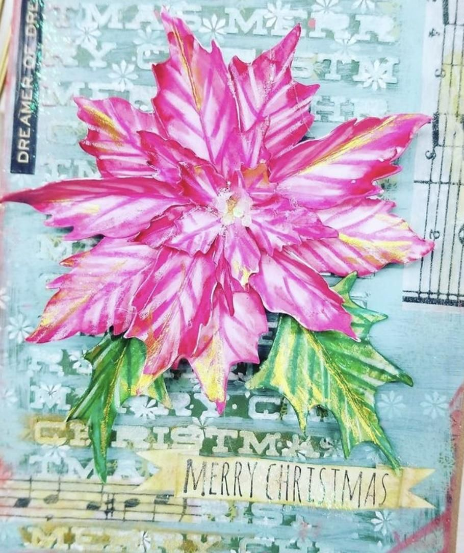 Loved incorporating into holiday cards - image 1 - student project