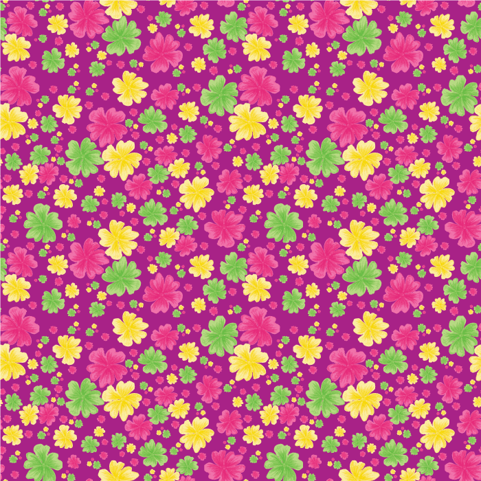 Bright Florals - image 1 - student project