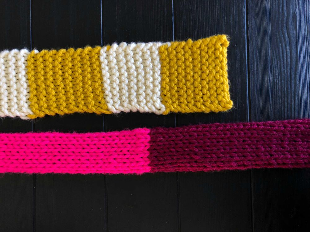 Fall Into Color Scarf - image 6 - student project