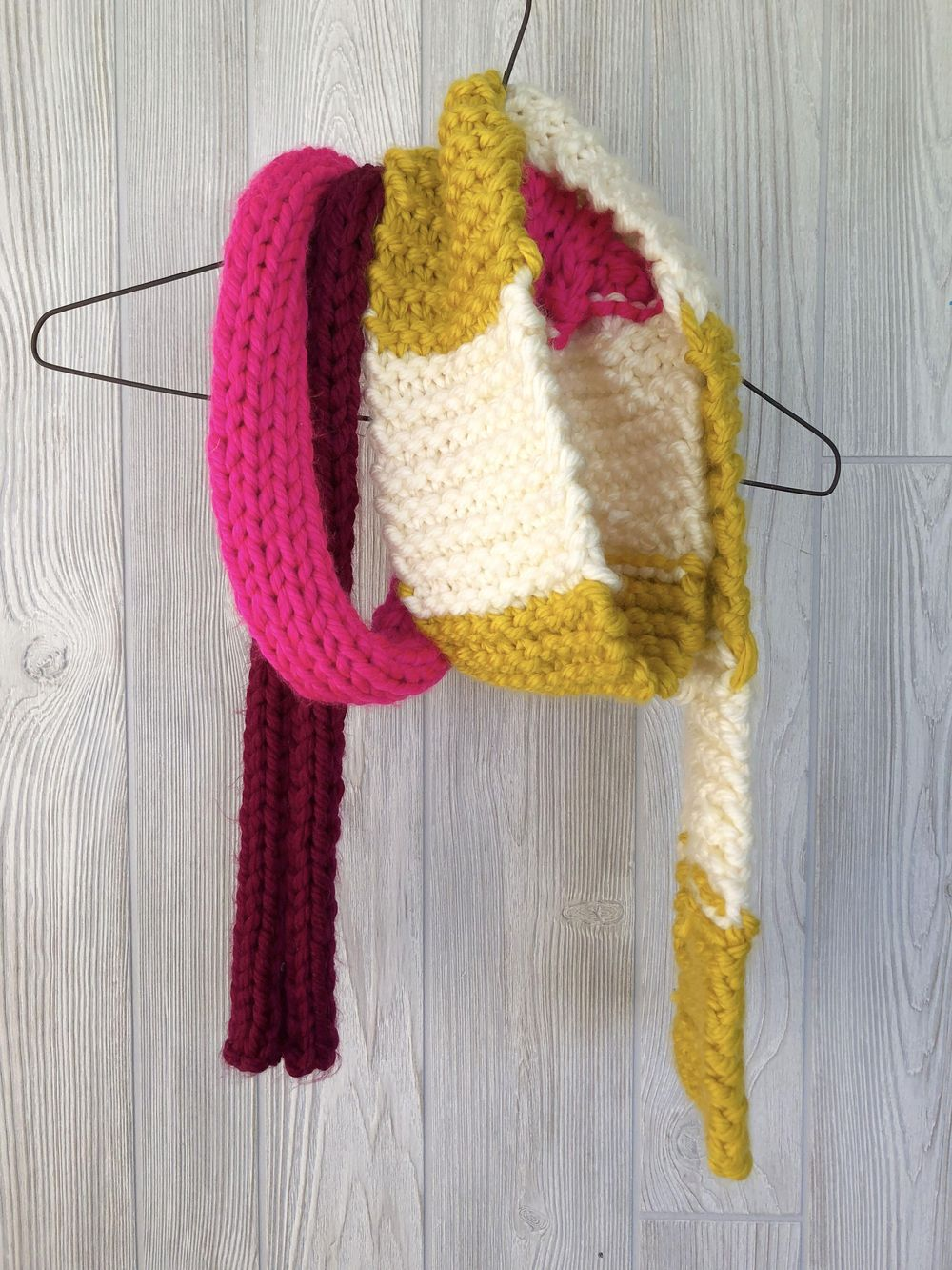 Fall Into Color Scarf - image 7 - student project