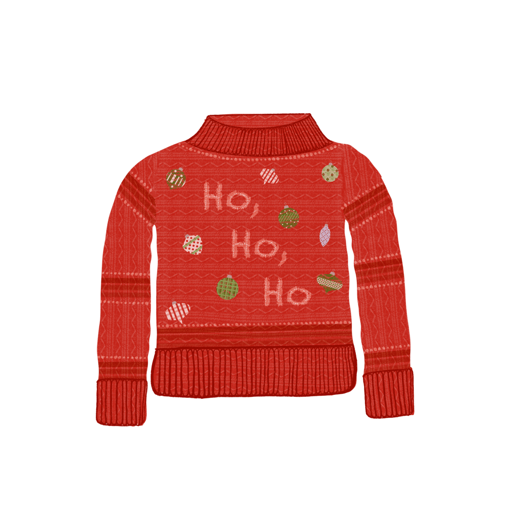 Christmas sweaters - image 2 - student project