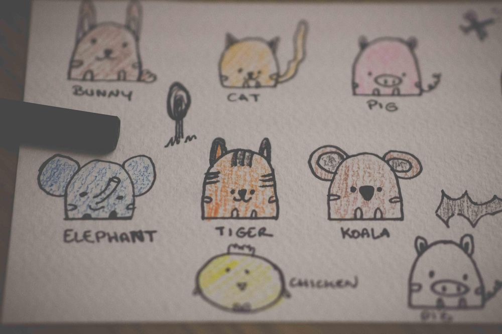 Animals cute : trying - image 2 - student project