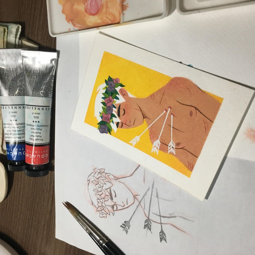 It's a Flower Crown Prince - image 2 - student project