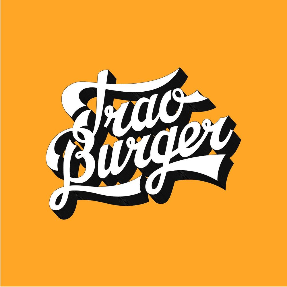 Trao Burger Logo - image 1 - student project