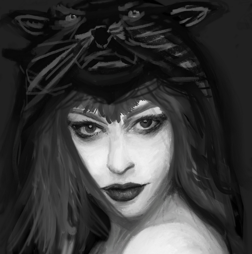 Bear-hat lady? - image 3 - student project