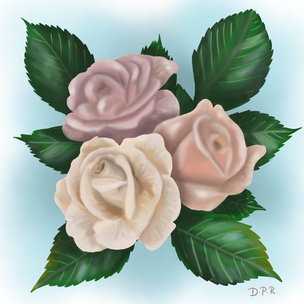 Vintage roses - image 2 - student project