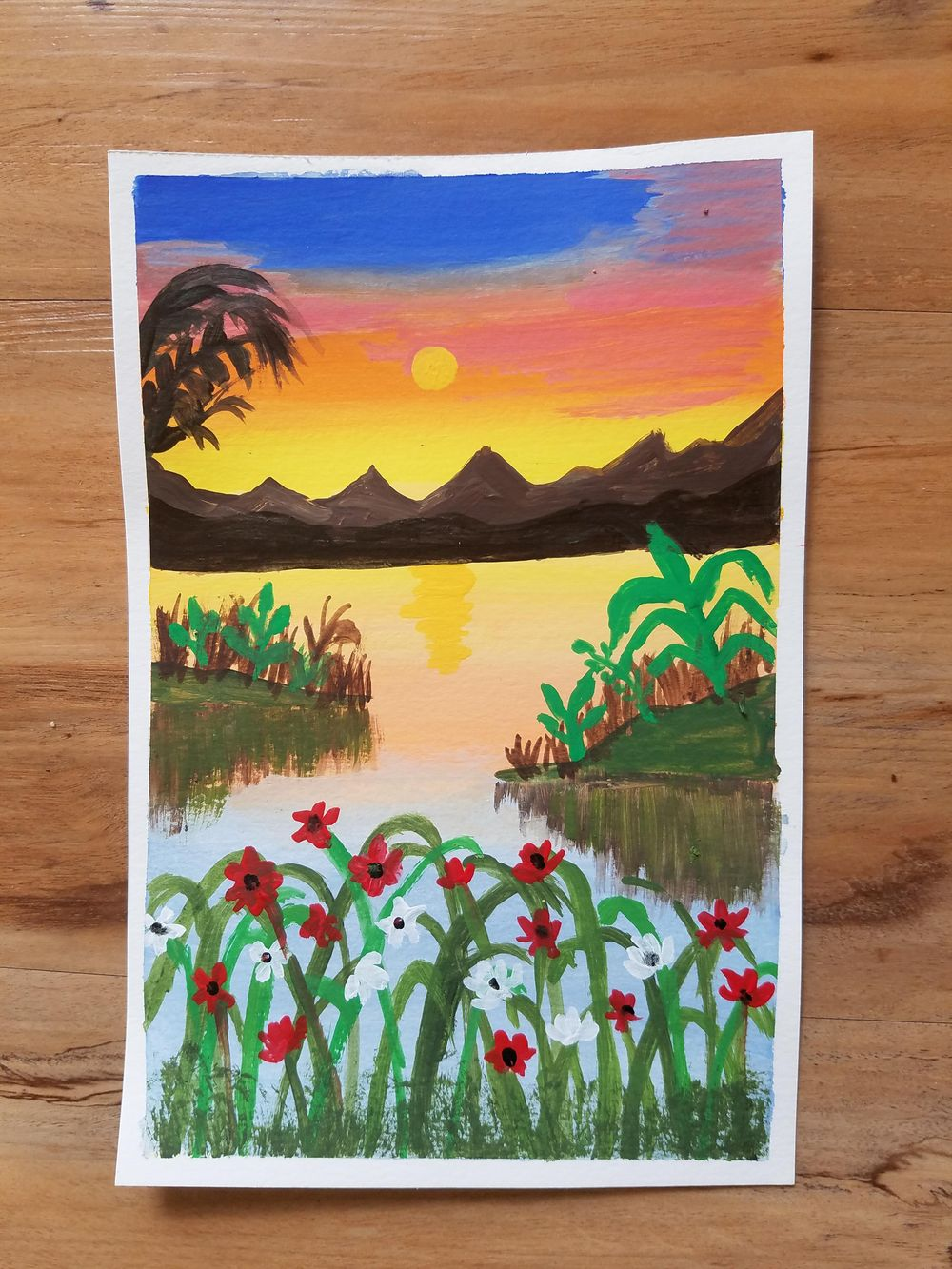 Sunset Painting - image 1 - student project