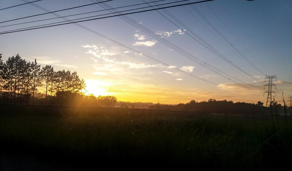 Sunrise in Brazil using Samsung J5 - image 1 - student project