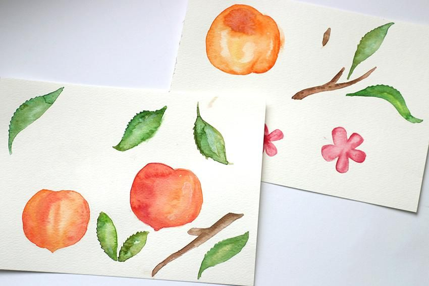 Melons and Peaches - image 8 - student project