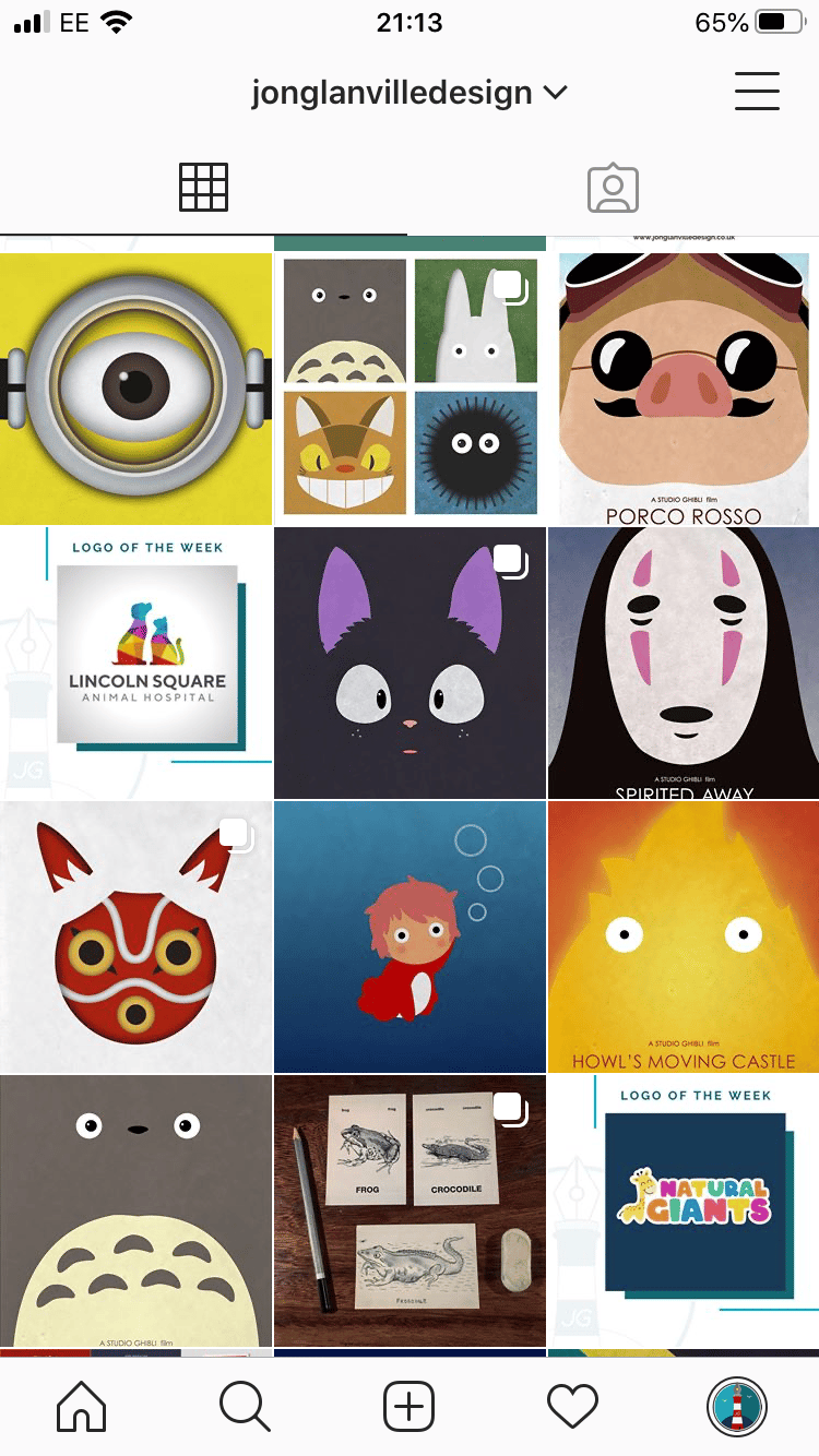 Graphic Designer IG Page So Far - image 2 - student project