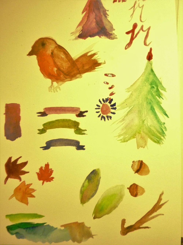 Festive Deer letterpaper - image 2 - student project