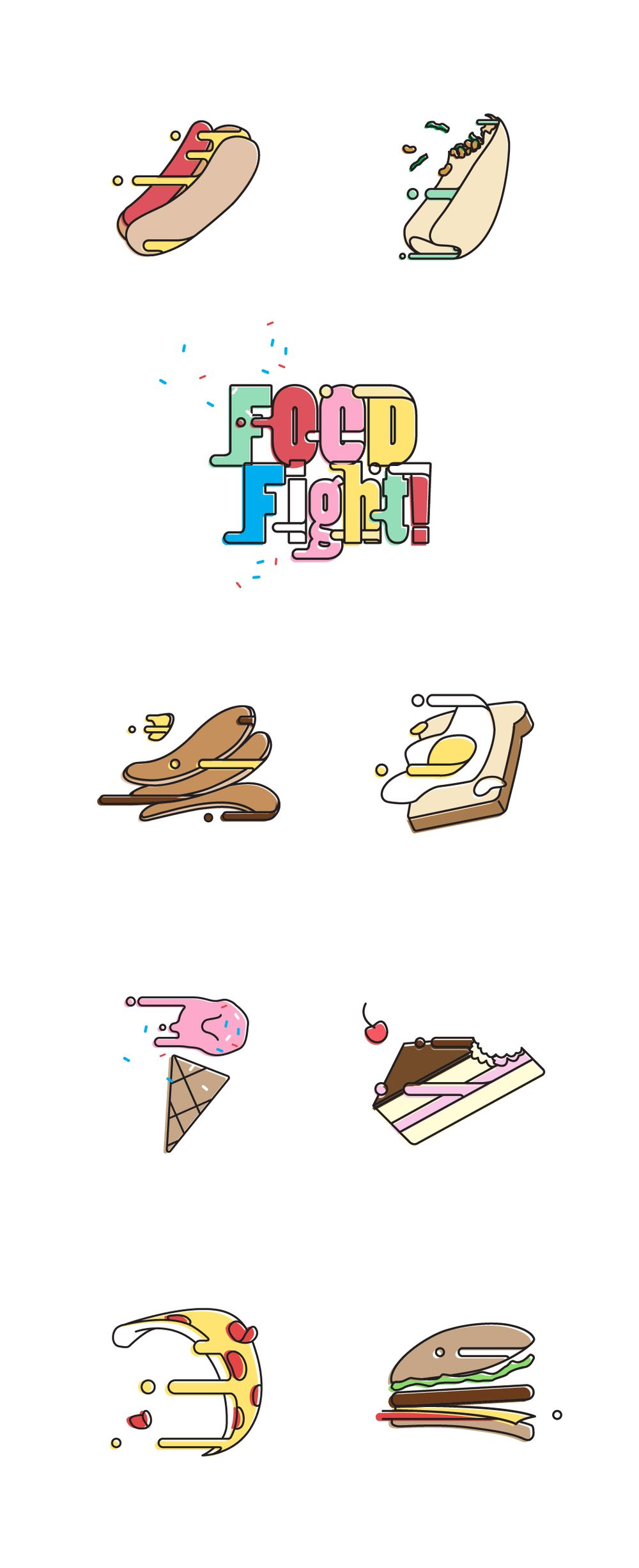 FOOD FIGHT! - image 2 - student project