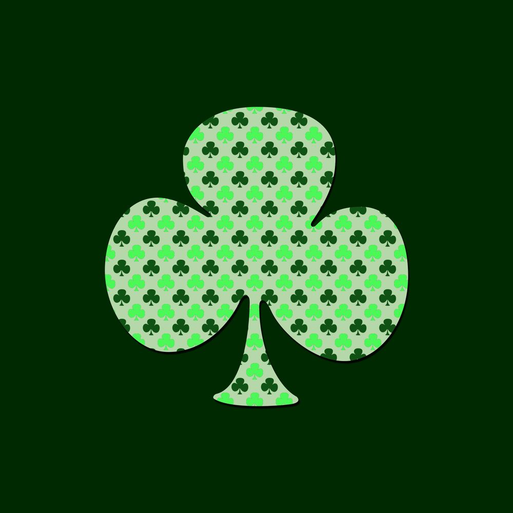 Shamrock in a shamrock in honor of St. Patrick's day. - image 1 - student project