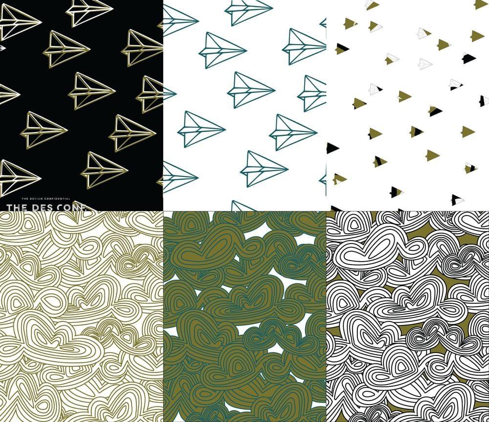 Surface Pattern Design Workshop - image 15 - student project