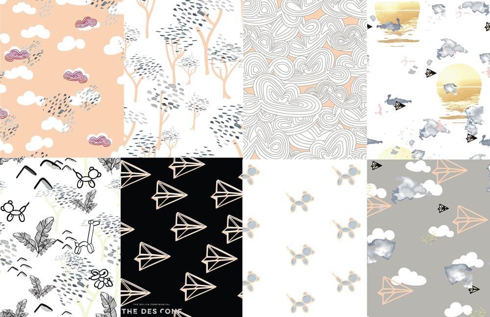 Surface Pattern Design Workshop - image 2 - student project