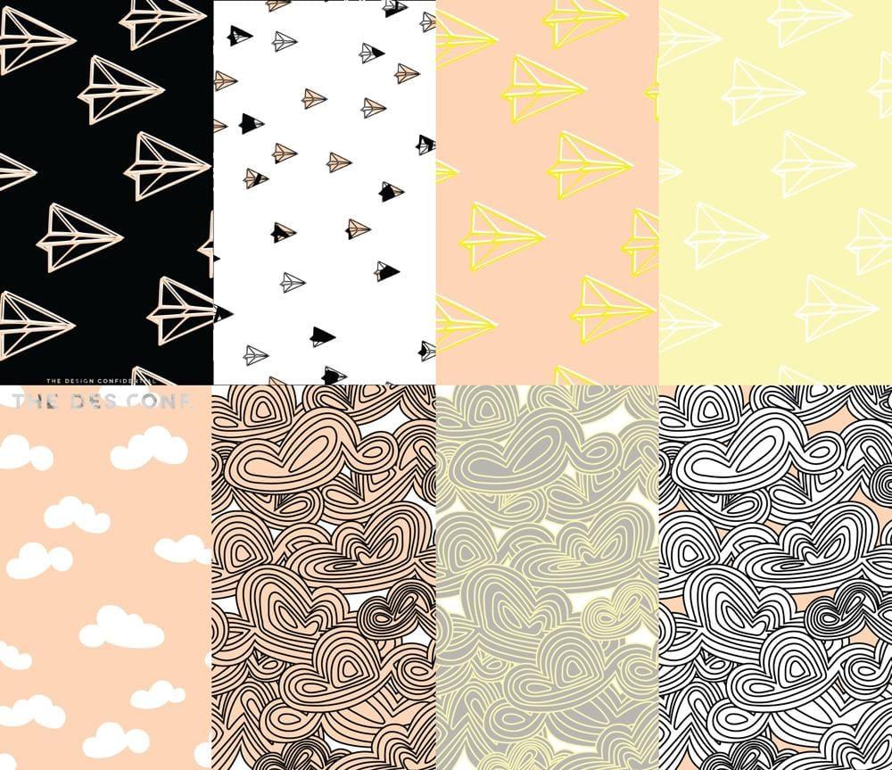 Surface Pattern Design Workshop - image 10 - student project
