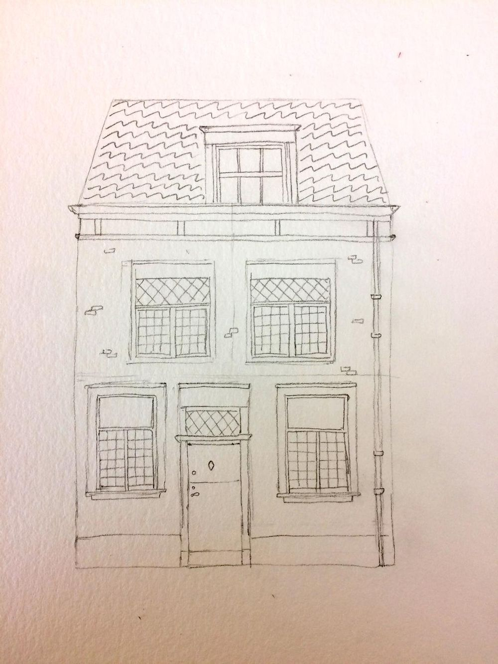 colorful Leiden house - image 1 - student project