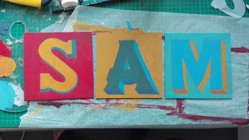 Painted Type - image 5 - student project