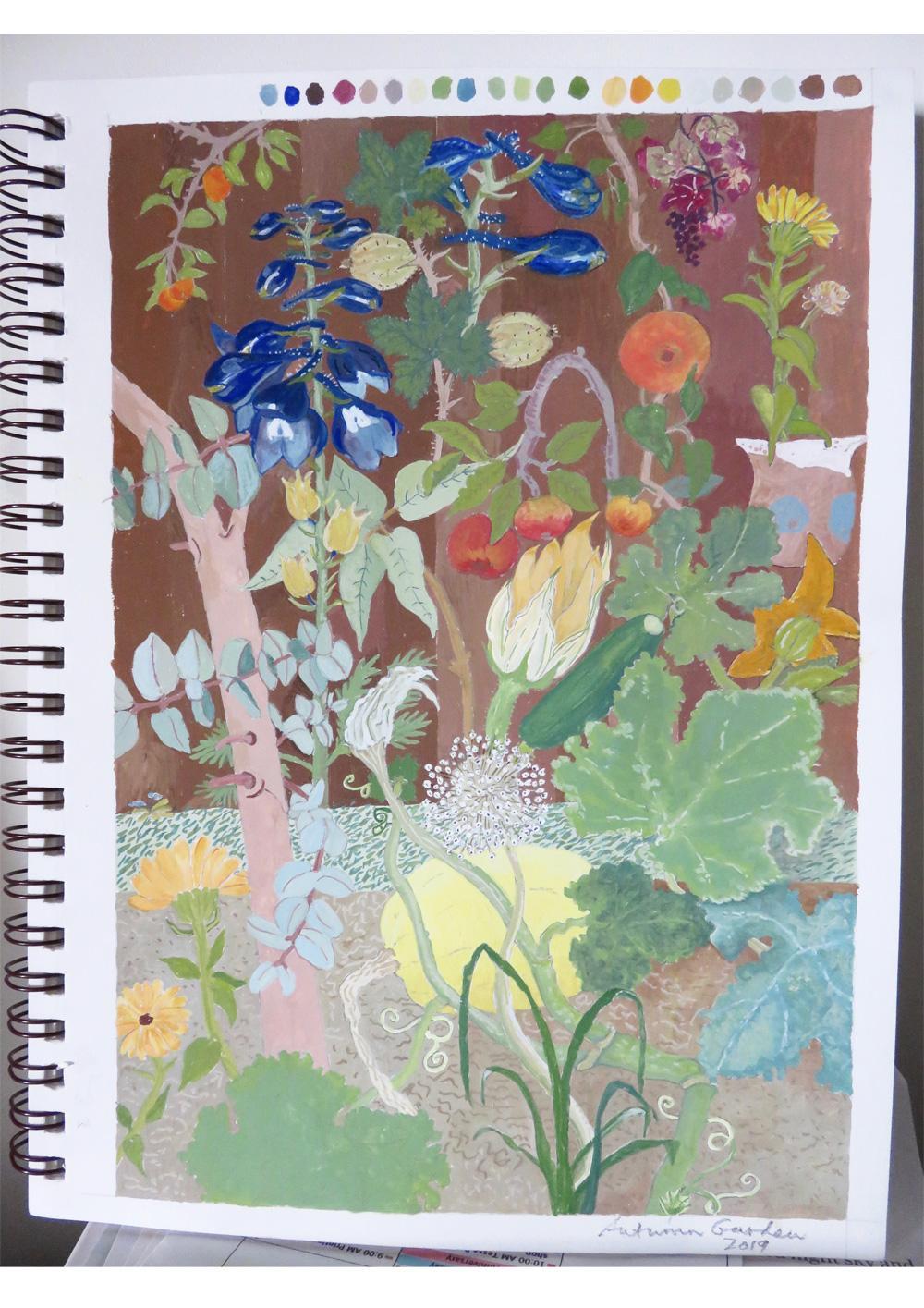 Autumn Garden 2019 - image 2 - student project