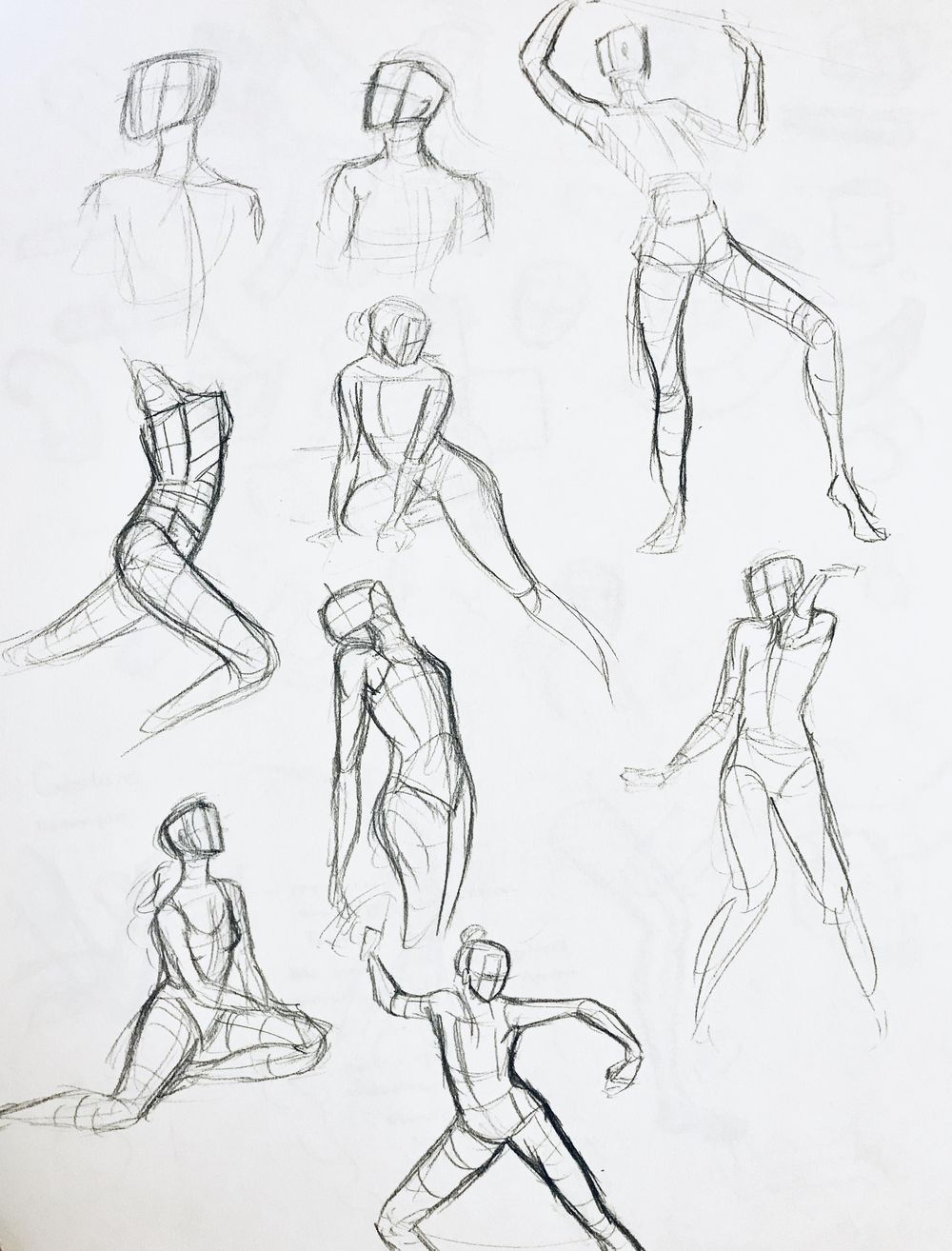 Drawing Exercises - image 1 - student project