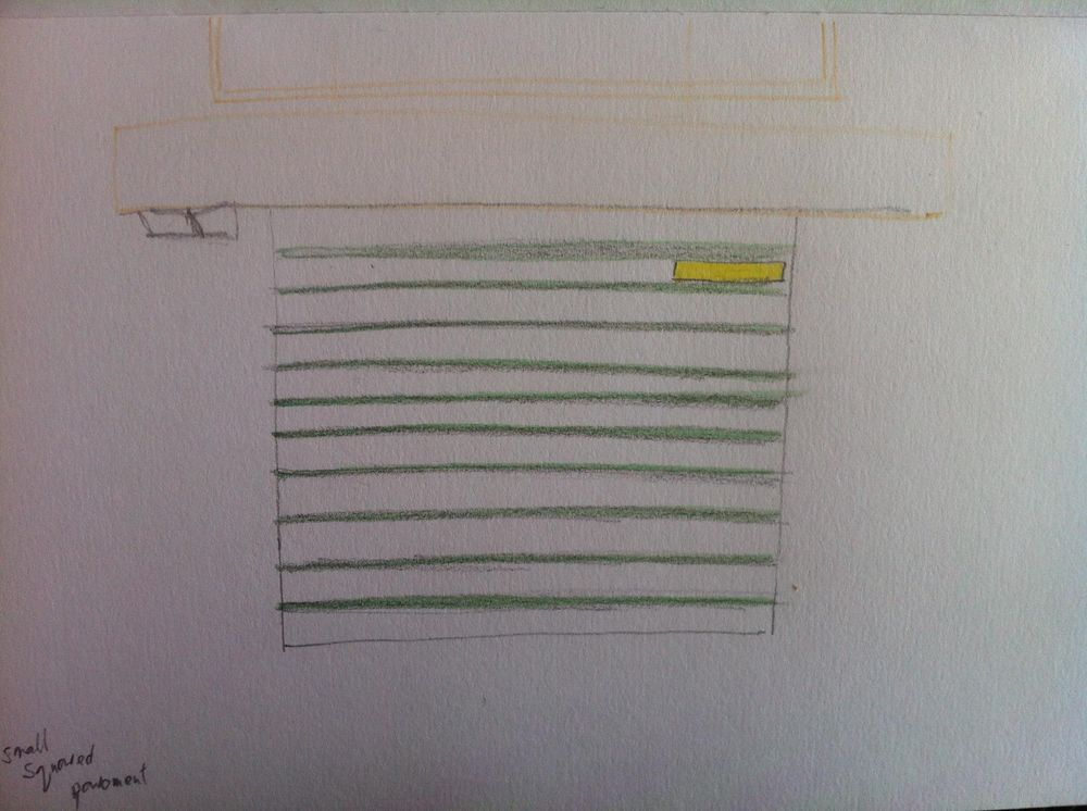 Landmarked drawings of Athens kiosks - image 6 - student project