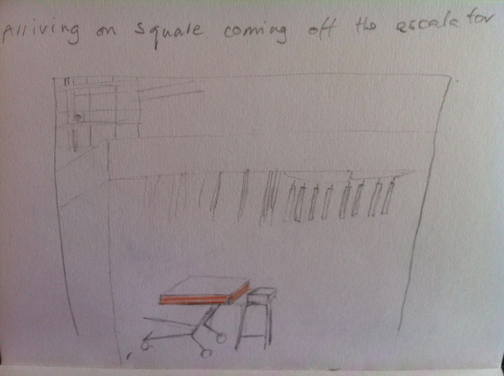 Landmarked drawings of Athens kiosks - image 3 - student project