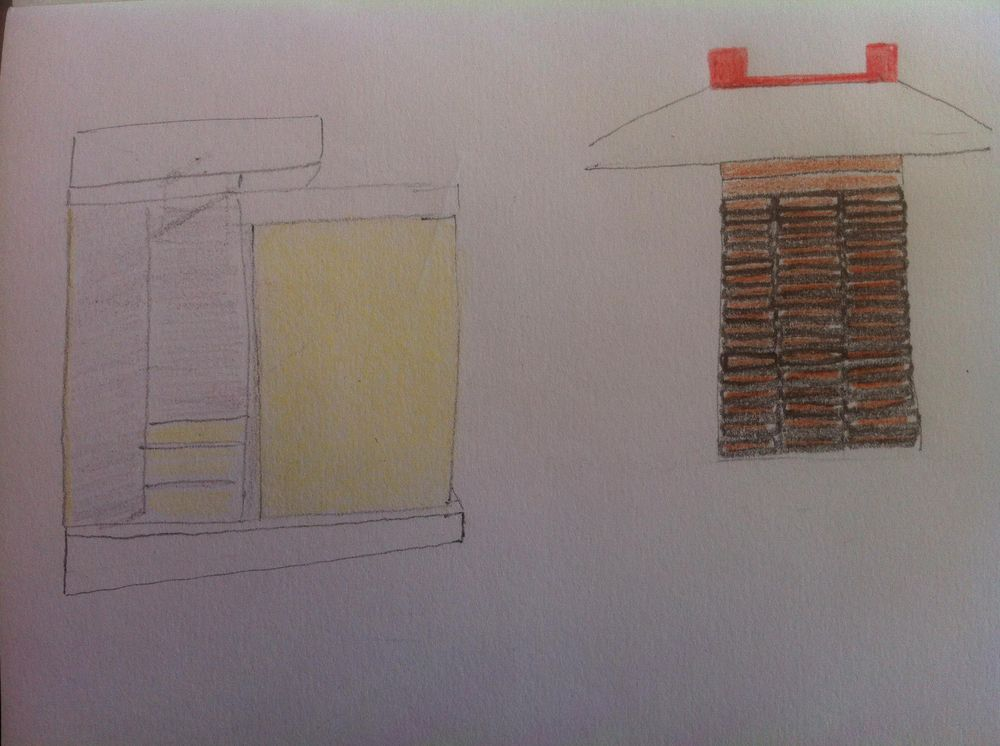 Landmarked drawings of Athens kiosks - image 24 - student project