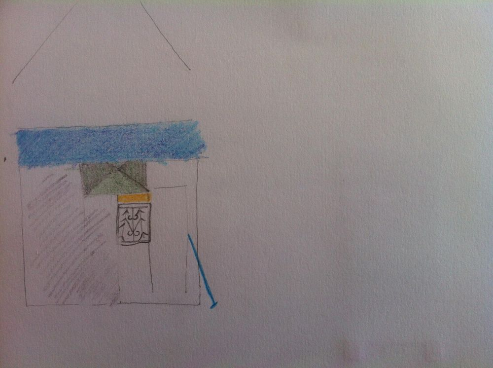 Landmarked drawings of Athens kiosks - image 25 - student project
