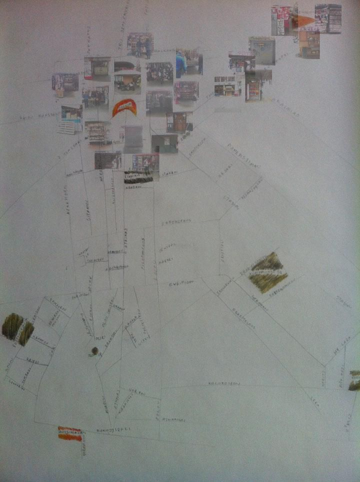 Landmarked drawings of Athens kiosks - image 1 - student project