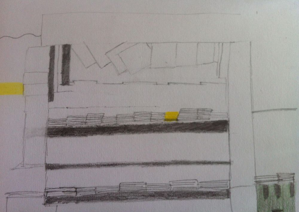 Landmarked drawings of Athens kiosks - image 4 - student project