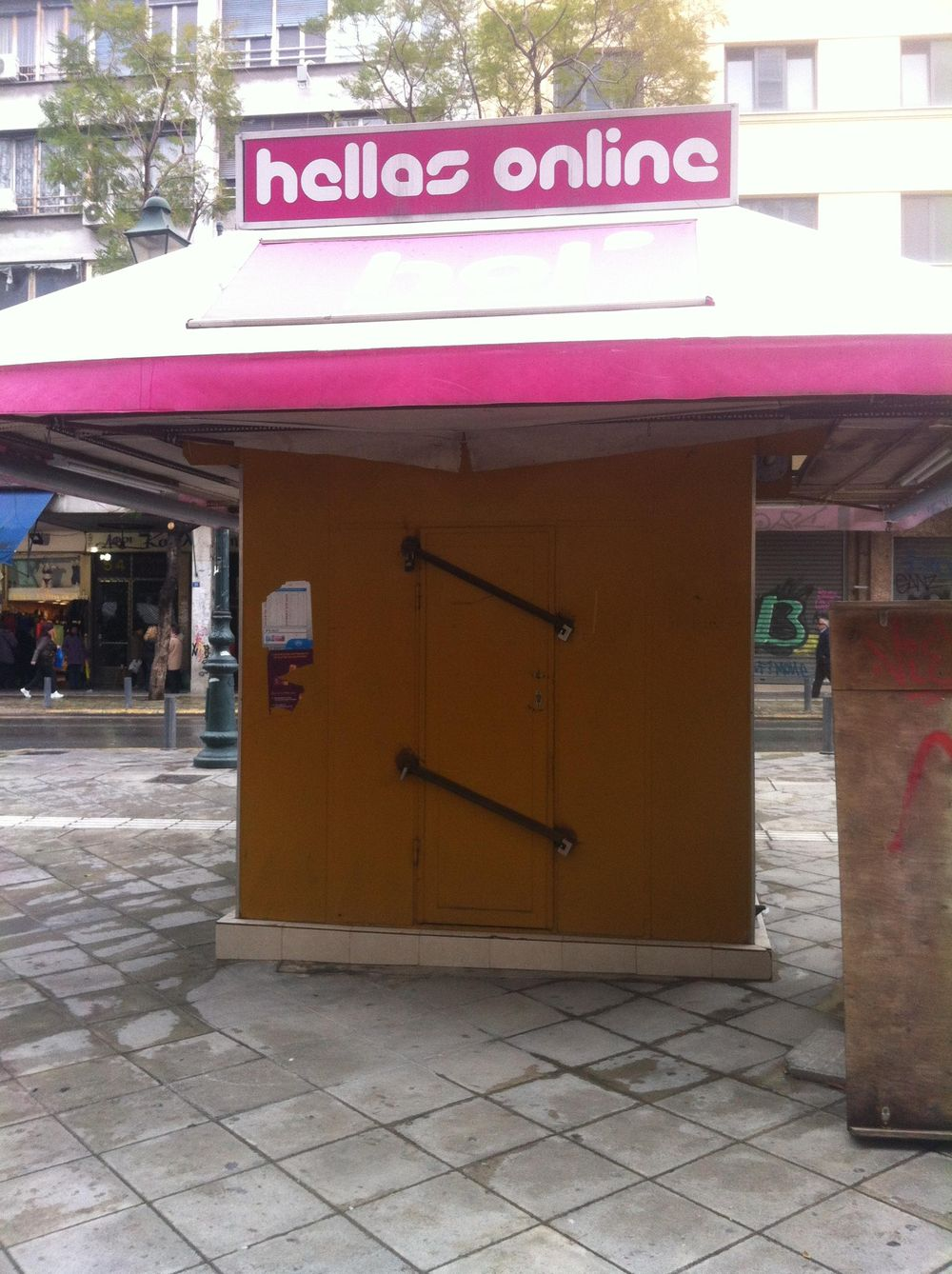 Landmarked drawings of Athens kiosks - image 27 - student project