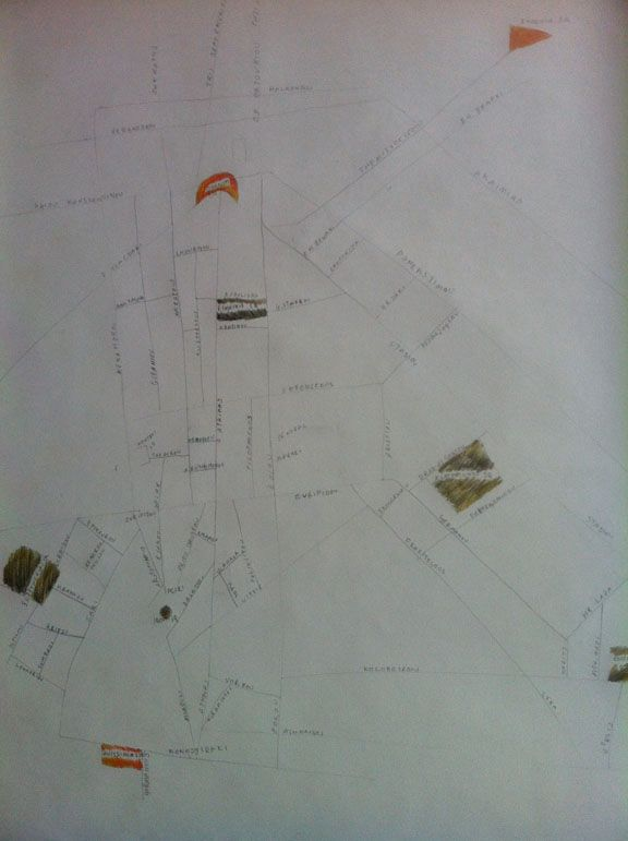 Landmarked drawings of Athens kiosks - image 2 - student project