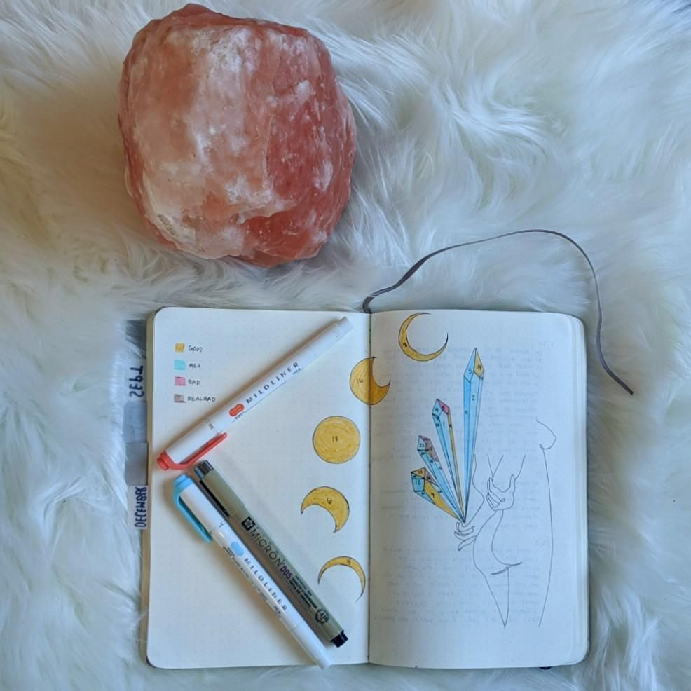 Mood Tracker Flat Lay - image 1 - student project