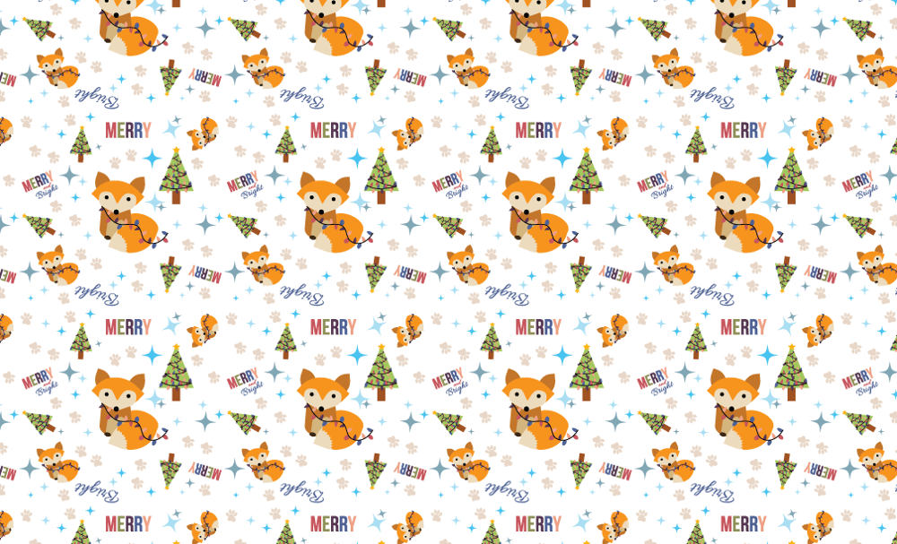 Fox- Merry and Bright - image 1 - student project